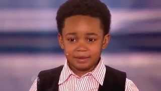 Isaac Brown - American Got Talent 2012 (louis audition)