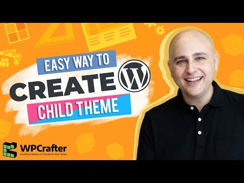 How To Create A Child Theme For WordPress – It's SUPER EASY, with this video