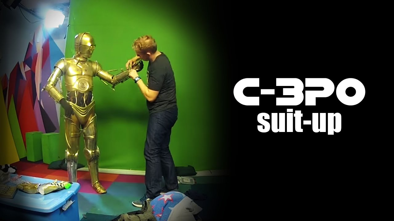 C 3po Suit Up At Maker Studios Narrated Youtube
