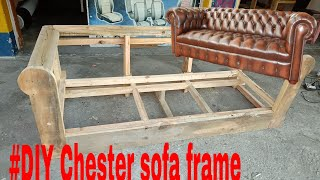 How to make Chester sofa frame