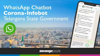 COVID-19 WhatsApp Chatbot – Telangana State Government launched a COVID-19 chatbot