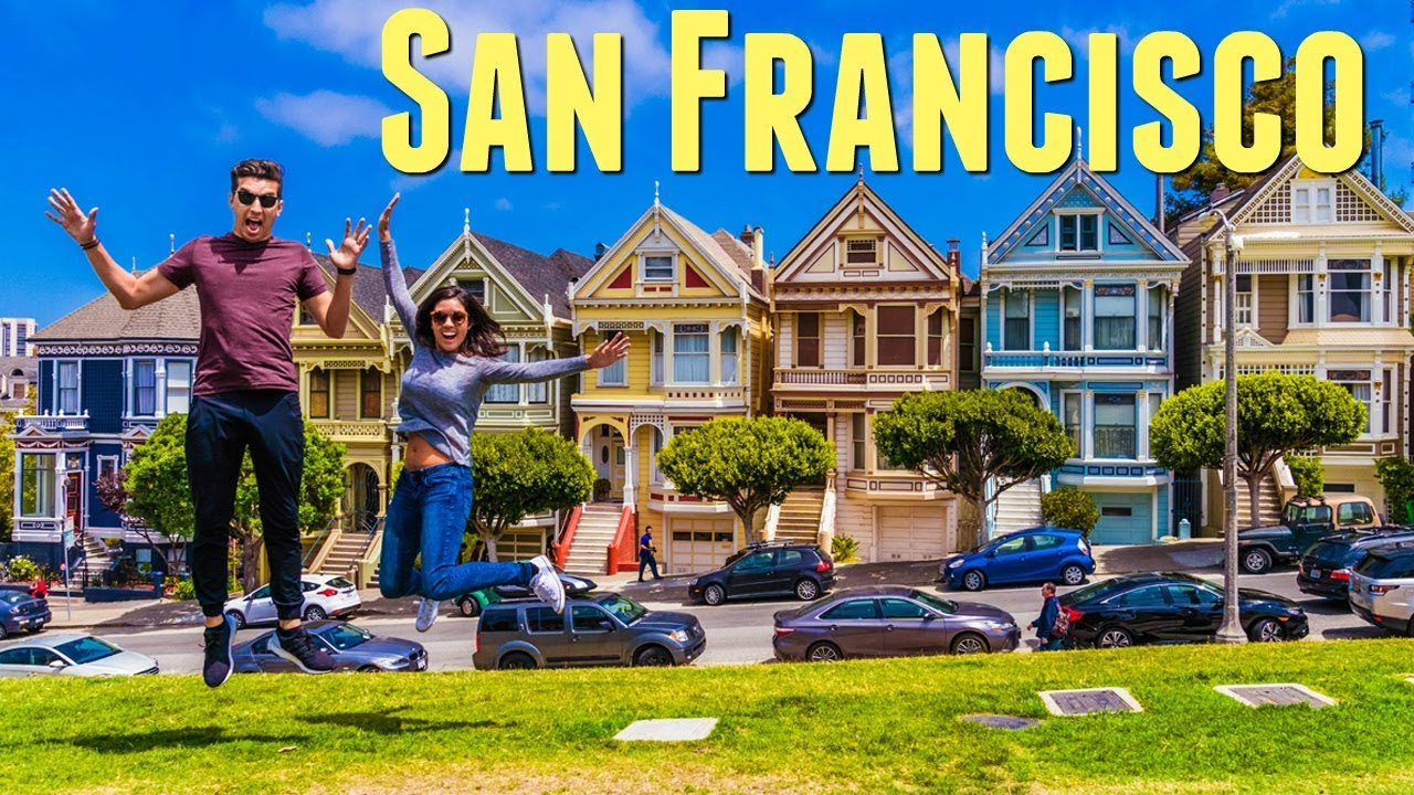 San Francisco Travel Vlog 2017 Full House Painted Ladies Fortune