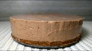 No Bake Nutella Cheesecake   How to Make Cheesecake   No-bake Cheesecake Recipe   No Oven Cake