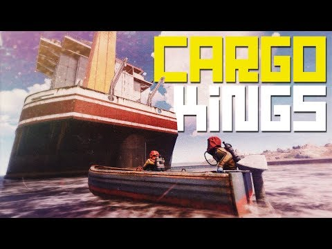 Rust | BOARDING CARGO SHIP While Being RAIDED thumbnail