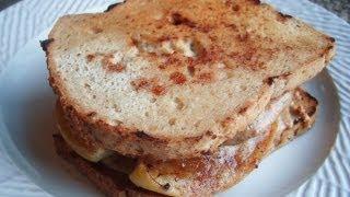 Grilled Apple & Almond Butter Sandwich On Paleo Bread™