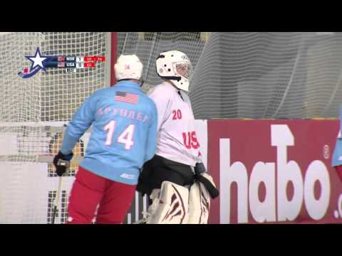 USA Bandy VS Norway 2016 Bandy VM