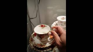 Vintage Tea cup tea set cups, high tea, trio, teapot collecting what to look out for