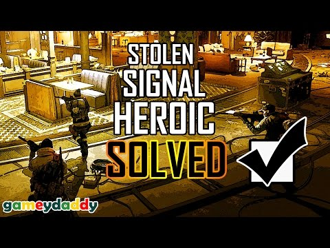 😷The Division | Stolen Signal Incursion Guide