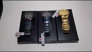 Relógio Naviforce NF9117 Pulseira Aço Inoxidável Varias Cores