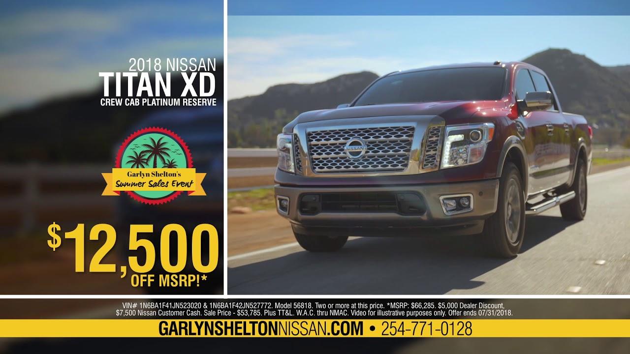 Garlyn Shelton Nissan >> Garlyn Shelton Nissan Ad 1 July 2018 Youtube