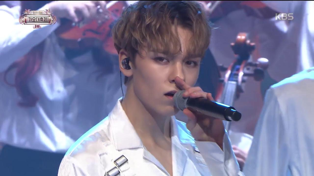 2017 KBS가요대축제 Music Festival - 세븐틴 - Intro+울고 싶지 않아 (Intro+Don't Wanna Cry). 20171229