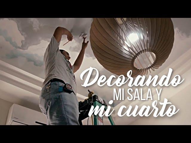 DECORANDO MI CUARTO Y SALA: VAS A LLORAR!