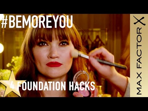 Max Factor Hacks | 4 Foundations Tips - Be More You