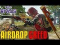 Airdrop Greed - Twitch Rivals | PUBG