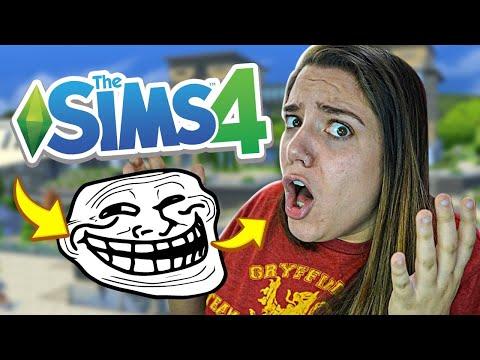 FUI TROLLADA NESSE VÍDEO! - The Sims 4 Vida Universitária