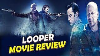 Looper- Science Fiction Movie Review Hollywood | Rian Johnson | Joseph Gordon-Levitt , Bruce Willis