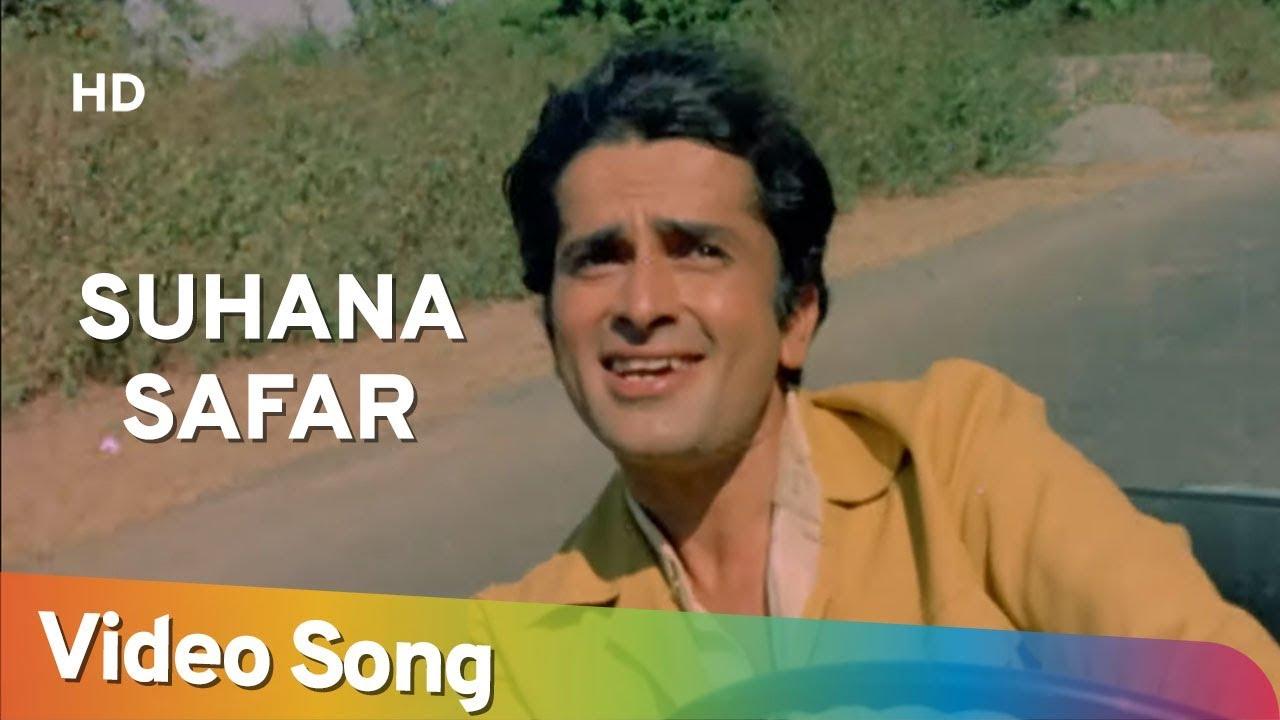Suhana Safar (HD) | Suhana Safar (1970) | Shashi Kapoor | Sharmila Tagore | Laxmikant Pyarelal Hits