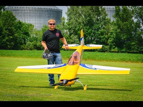 Joe Smith AeroWorks Extra 100cc at Galion Fest