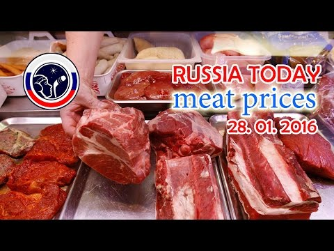 Russian Food Prices 2016 🎥 fantastic meat prices // NO COMMENT on Different Russia Channel