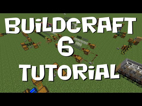 BuildCraft 6 Tutorial #3 - Transport Pipes (MC 1.7.10)