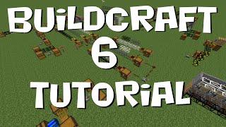 BuildCraft 6 Tutorial #3 - Transport Pipes (MC 1.7.10)