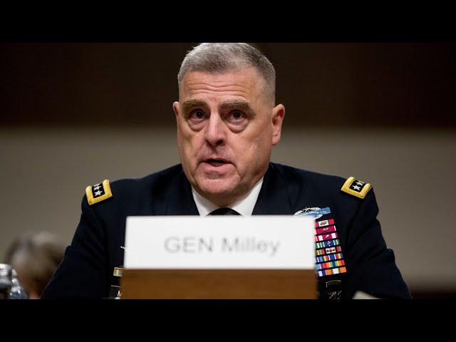 General Milley urged to remove Trump 'by force' if he refuses to leave office