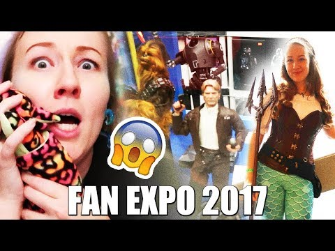 Vancouver Fan Expo 2017 - Vlog, Haul and Review