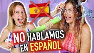 5 SEGUNDOS 3 PALABRAS en *OTRO IDIOMA* Nos mojamos! | Carla Laubalo