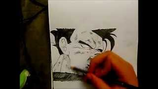 HOW TO DRAW son gohan injured [dragonball Z]