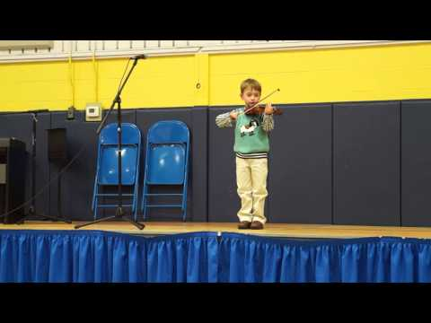Dax playing Violin CDS 2014