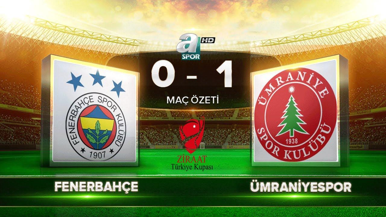 Fenerbahçe 0-1 Ümraniyespor | Maç Özeti