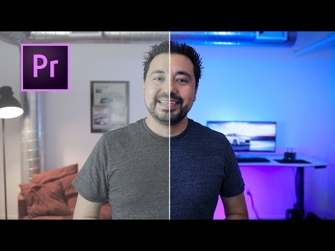 How I COLOR GRADE in Adobe Premiere PRO CC 2017!