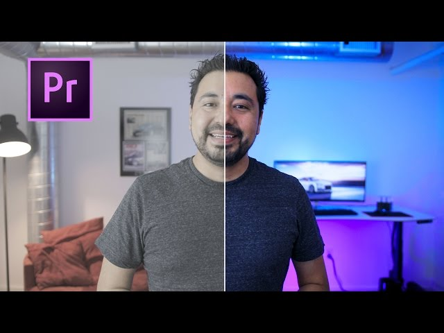 How I COLOR GRADE in Adobe Premiere PRO CC