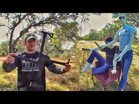 Самооборона метательными томагавками | Разрушительное ранчо | Перевод Zёбры