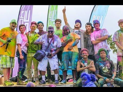 Glow Powder on people 2015 Color Vibe Savannah