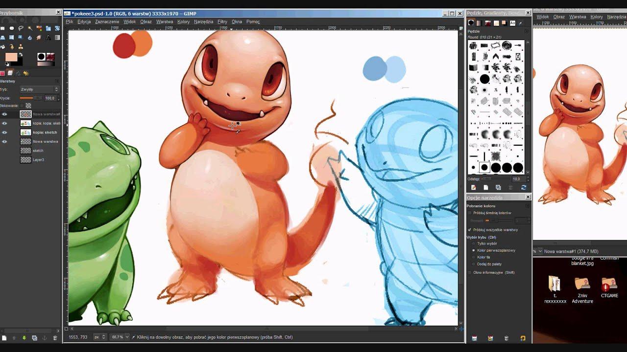 Game boy color palette gimp - Charmander Gameboy Colors Painting In Gimp