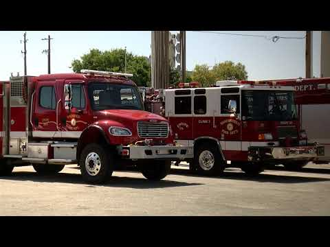 Bakersfield Fire Department Pulls Trucks Out Of Station