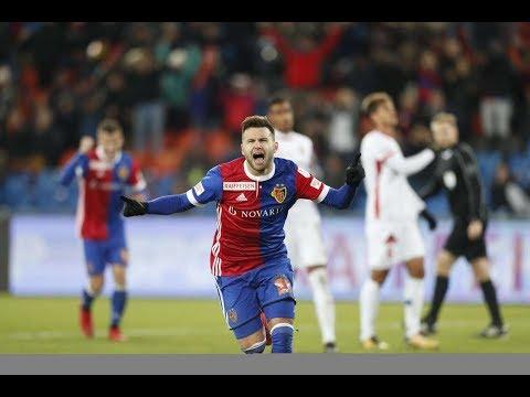 FC Basel vs. FC Sion (5:1) Raiffeisen Super League 15. Runde (18.11.2017)