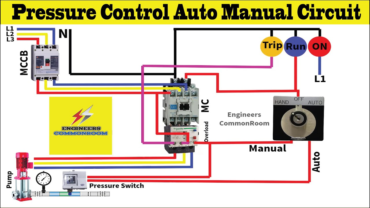 Ats Diagram 40 Wire Pump Pressure Control   Fusebox and Wiring ...