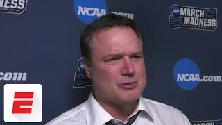 Bill Self says no need for Kansas to 'hang their head' | ESPN