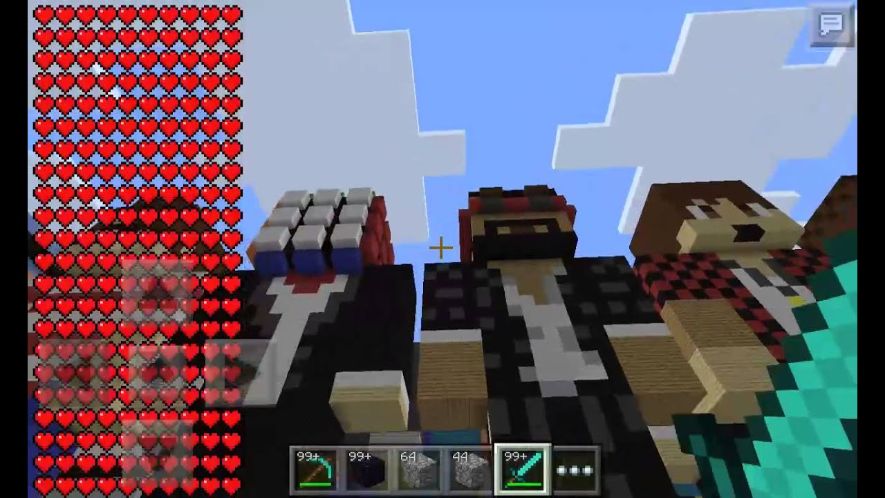 BlockLauncherYoutubers Minecraft Skins YouTube - Skins para minecraft pe youtubers