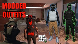 Gta 5 Online Modded Outfits Showcase
