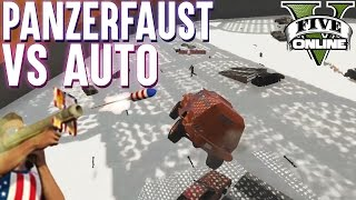 PANZERFAUST VS AUTO★ GTA 5 RPG VS INSURGENT (+Download) ★ GTA Online LPmitKev | GTA 5 PC Deutsch