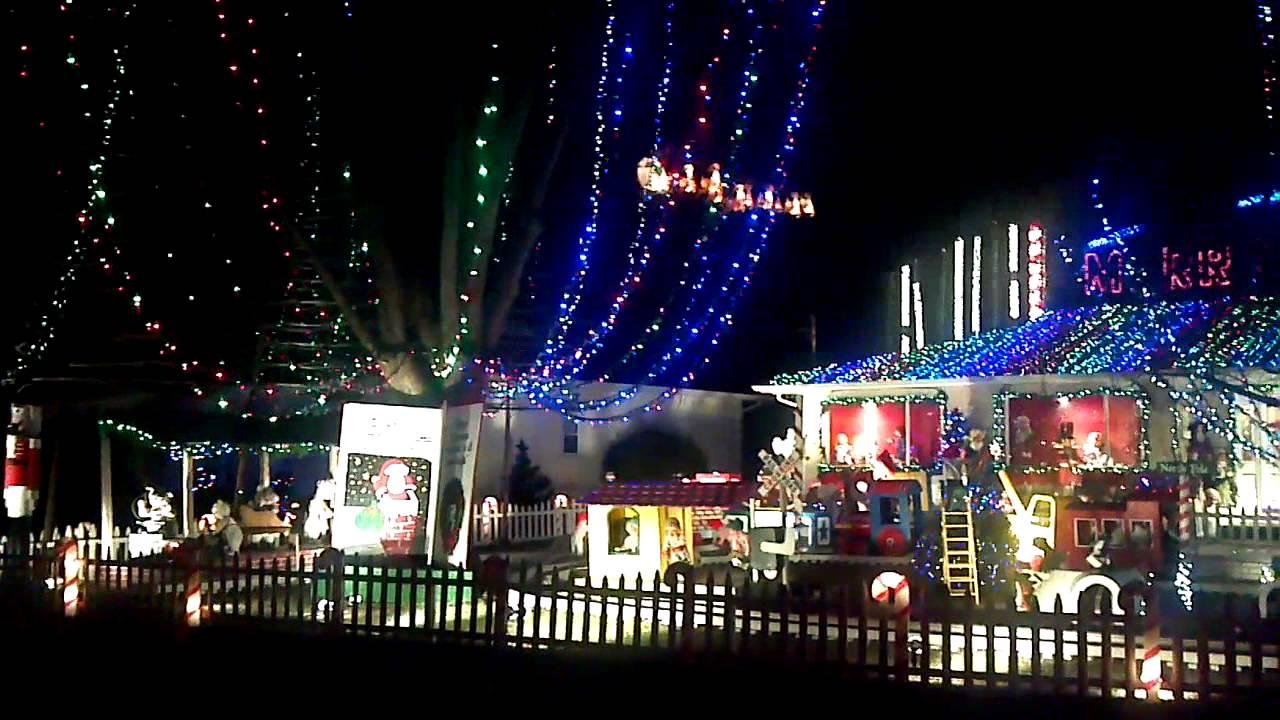 christmas in deer park - Deer Christmas Lights