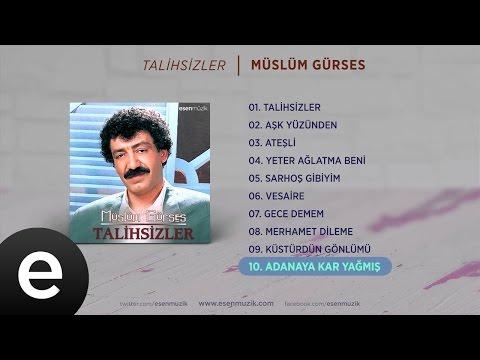 Adana'ya Kar Yağmış (Müslüm Gürses) Official Audio #adanayakaryağmış #müslümgürses - Esen Müzik