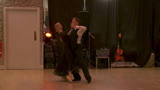 James and Kelly Prouton dancing the Tango Summer Social 2017