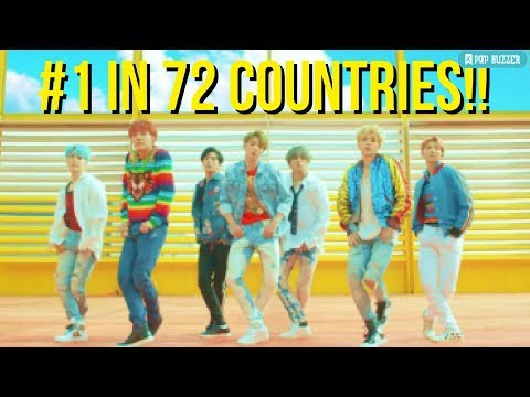 BTS Comeback MV 'DNA' Breaks Youtube Views Record And #1 ITunes Chart in 72 Countries