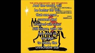 The Impossible Dream-Brian Stokes Mitchell ( W/ Lyrics)