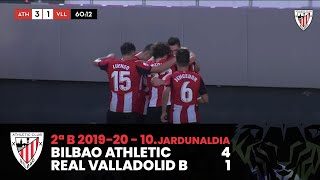 ⚽️ Resumen I J10. 2ªDiv. B 2019-20 I Bilbao Athletic 4 - 1 Real Valladolid Promesas I Laburpena Video