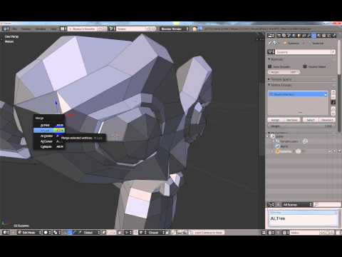 How to save a face, edge or vertex selection in Blender.